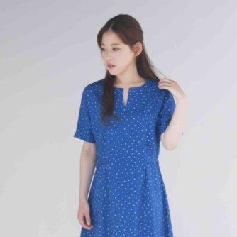 高橋恵美子デザイン手ぬいのワンピース(EC-0004)