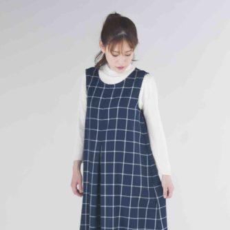 高橋恵美子デザイン手ぬいのジャンパースカート(EC-0005)